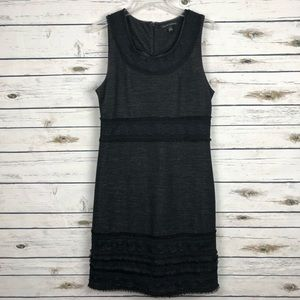 Banana Republic  10 sleeveless dress lace accents